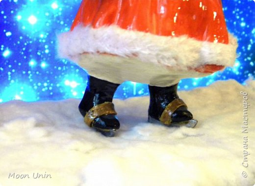 Всем привет! Продолжаю новогодне-зимнюю тему. Сегодня хочу показать вам девочку на коньках, немного винтажную;) фото 19