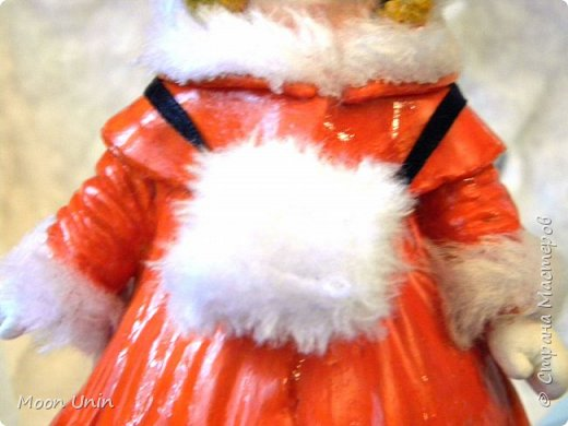 Всем привет! Продолжаю новогодне-зимнюю тему. Сегодня хочу показать вам девочку на коньках, немного винтажную;) фото 18