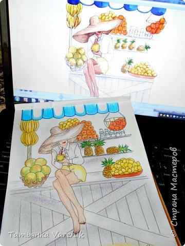 Одним росчерком карандаша...палитра чувств,эмоций и настроений...❤  Идеи зарисовок не мои.Срисовывала иллюстрации  разных талантливых илюстраторов=) фото 29