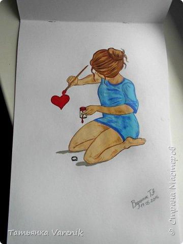 Одним росчерком карандаша...палитра чувств,эмоций и настроений...❤  Идеи зарисовок не мои.Срисовывала иллюстрации  разных талантливых илюстраторов=) фото 25