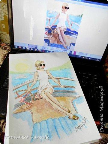 Одним росчерком карандаша...палитра чувств,эмоций и настроений...❤  Идеи зарисовок не мои.Срисовывала иллюстрации  разных талантливых илюстраторов=) фото 23