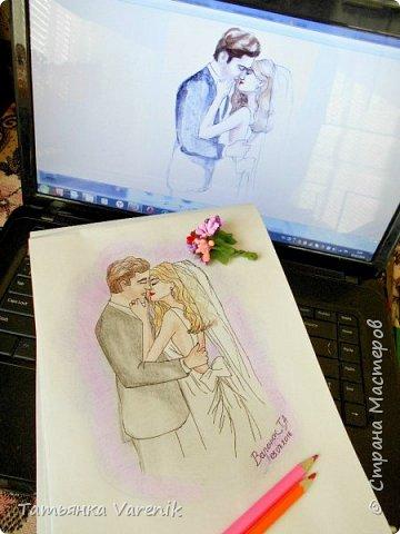 Одним росчерком карандаша...палитра чувств,эмоций и настроений...❤  Идеи зарисовок не мои.Срисовывала иллюстрации  разных талантливых илюстраторов=) фото 27