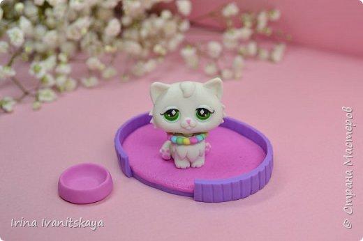 В этом мастер классе я покажу как сделать фигурку котика из полимерной глины с подвижной головой своими руками по мотивам Литл пет шоп (Зоомагазин), Littlest Pet Shop (LPS). Приятного вам просмотра! фото 3