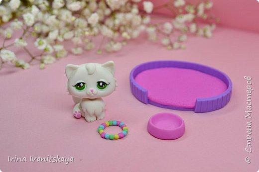 В этом мастер классе я покажу как сделать фигурку котика из полимерной глины с подвижной головой своими руками по мотивам Литл пет шоп (Зоомагазин), Littlest Pet Shop (LPS). Приятного вам просмотра! фото 2