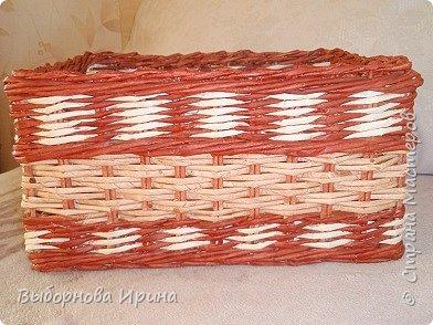 Коробочка плетеная фото 3