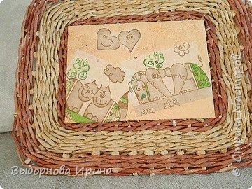 Коробочка плетеная фото 5