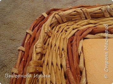 Коробочка плетеная фото 7