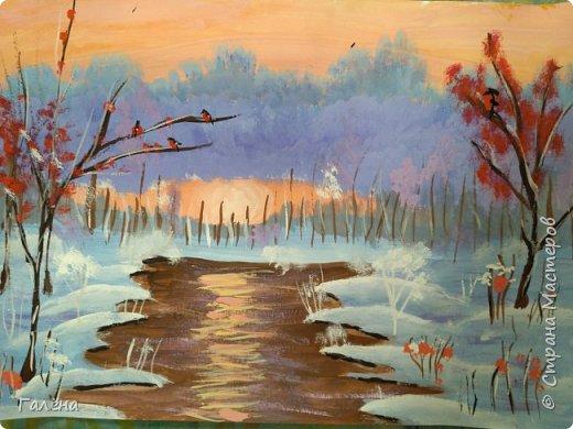Зимняя речка. фото 3