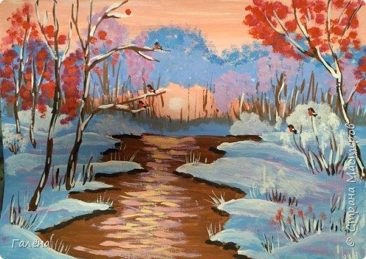 Зимняя речка. фото 4
