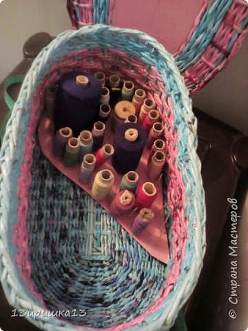 Моя шкатулочка для ниток. фото 8