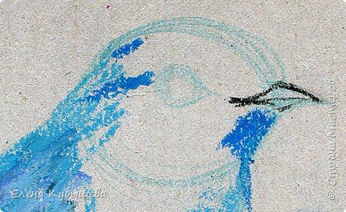 """Друзья, сейчас я увлеченно рисую пастелью, готовлю МК для вас на курсе <a href=""""http://stranamasterov.ru/workshop16"""">Сам себе художник</a> и хочу поделиться одним из заданий. Это Синяя Птица Удачи!   Мы желаем друг другу удачи по разным поводам. На праздники и в повседневной жизни, напутствуя кого-то в дорогу, на работу, экзамен, просто в любых начинаниях!  Размышляя о символах наших пожеланий, я всегда представляю яркую синюю птичку. Предлагаю вам изобразить свою птицу удачи в технике пастели.  фото 9"""