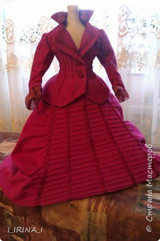 платье кукле 19 века  фото 10