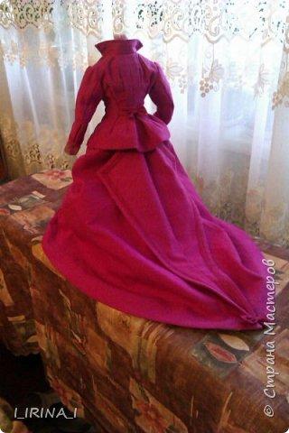 платье кукле 19 века  фото 11