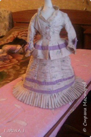 платье кукле 19 века  фото 12