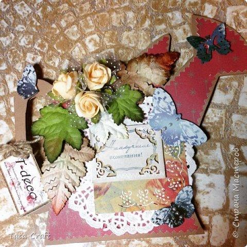 Здравствуте! Может кто-то помнит меня под именем Южный Цветок? Я оооочень надолго пропала, но с удовольствием возвращаюсь туда, где я всегда черпала вдохновение... Много чему я научилась за время отсутствия в СМ))) Если кому-то интересно - можете сравнить с моими старыми работами)) Буду рада отзывам и общению))) Этот чайный домик побывал на ярмарке, но не продался и теперь живет на моей кухне! фото 11