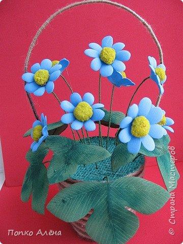 Здравствуйте, Мастера и мастерицы! Представляю Вам цветы из фоамирана.  Одуванчики. фото 13