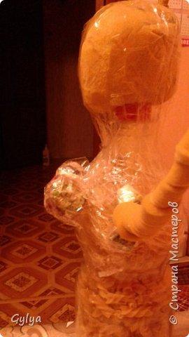 """Моя первая кукла и мой первый МК. Делала для конкурса """"Масленица"""" в детский сад. Кукла высотой 46 см, вместе с блином-солнышком высота составляет 60 см. фото 8"""