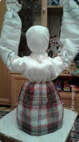 """Моя первая кукла и мой первый МК. Делала для конкурса """"Масленица"""" в детский сад. Кукла высотой 46 см, вместе с блином-солнышком высота составляет 60 см. фото 24"""