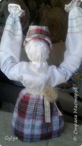 """Моя первая кукла и мой первый МК. Делала для конкурса """"Масленица"""" в детский сад. Кукла высотой 46 см, вместе с блином-солнышком высота составляет 60 см. фото 32"""