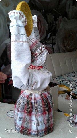 """Моя первая кукла и мой первый МК. Делала для конкурса """"Масленица"""" в детский сад. Кукла высотой 46 см, вместе с блином-солнышком высота составляет 60 см. фото 42"""