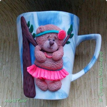 Чашка с мишкой фото 2