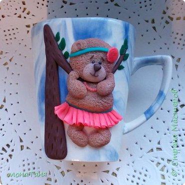Чашка с мишкой