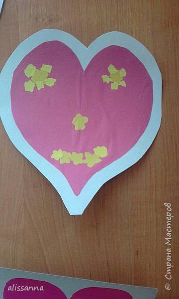 Доброе время суток...жители Страны...вот такие валентинки получились у моих первоклашек...не судите строго....мы старались...)))))  фото 10