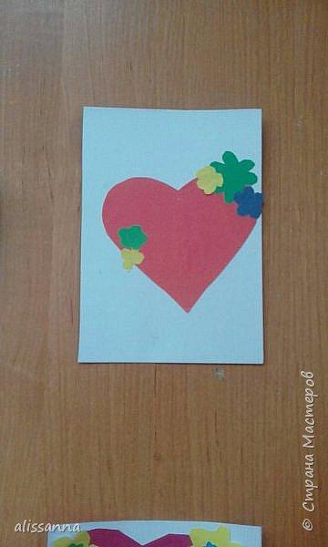 Доброе время суток...жители Страны...вот такие валентинки получились у моих первоклашек...не судите строго....мы старались...)))))  фото 9