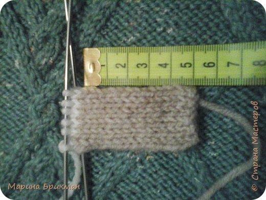 Здравствуйте, друзья! Рада представить вам мастер-класс по вязанию спицами игрушек. Сегодня это будет котик с карамелькой. фото 15