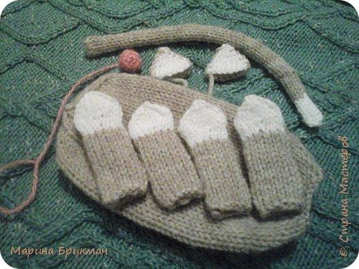 Здравствуйте, друзья! Рада представить вам мастер-класс по вязанию спицами игрушек. Сегодня это будет котик с карамелькой. фото 22