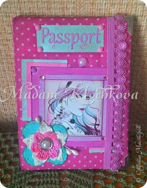 Обложки на паспорт и автодокументы_кожа и ткань. фото 15