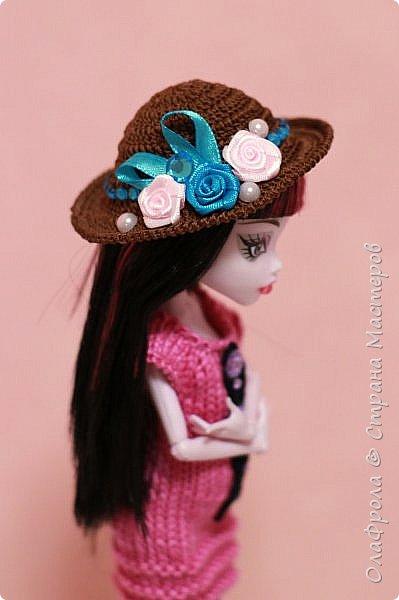 Поделюсь с вами небольшим мастер-классом по вязанию такой вот шляпки фото 17
