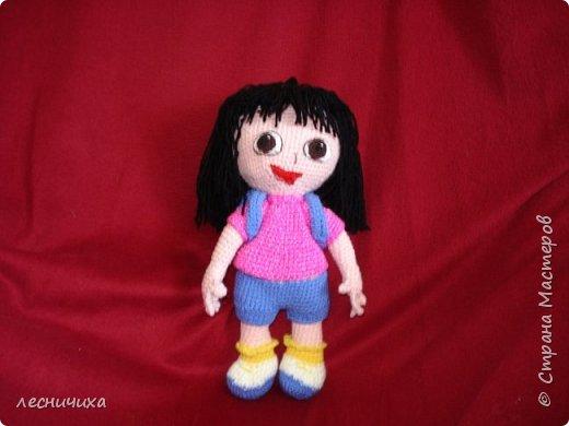 Моя внучка обожает мультфильм про Дашу-путешественницу (она же Dora). Надеюсь, внучке понравится - завтра Даша улетит в посылке за 9 тысяч км от меня, к внучке.
