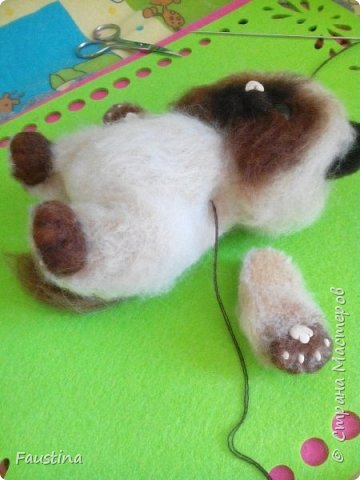 Здравствуйте,дорогие мастера! Продолжаем создавать замечательного котеночка Чарлика! Начало в записи рэгдолл Чарли. фото 11