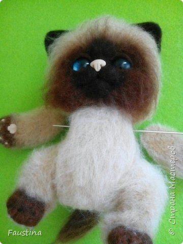 Здравствуйте,дорогие мастера! Продолжаем создавать замечательного котеночка Чарлика! Начало в записи рэгдолл Чарли. фото 4