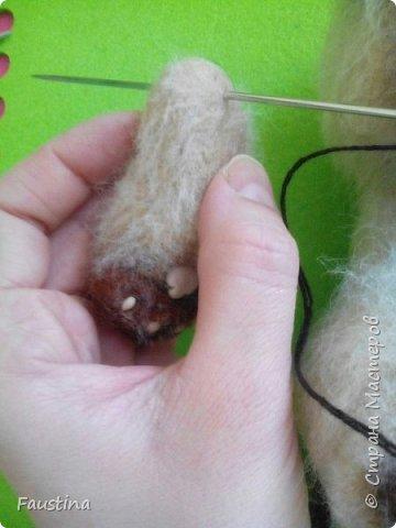 Здравствуйте,дорогие мастера! Продолжаем создавать замечательного котеночка Чарлика! Начало в записи рэгдолл Чарли. фото 5