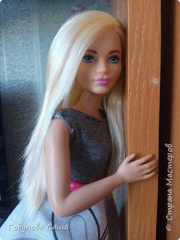Сегодня(в первый весенний денёк)я хочу показать вам этот романтичный и весенний образ для пышной куклы барби. фото 3