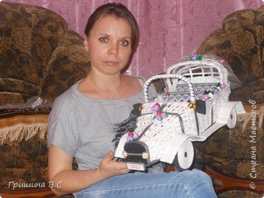 свадебный ретро автомобиль фото 1
