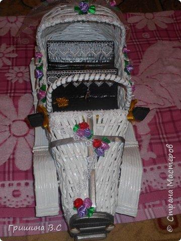 свадебный ретро автомобиль фото 2