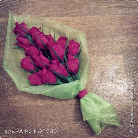 Подарочек племяшке мужа, подснежники. Получились гигантскими из-за больших конфет)))) фото 2