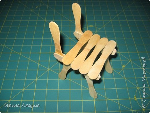 Понадобился стульчик, чтобы посадить текстильную куклу - феечку. фото 6