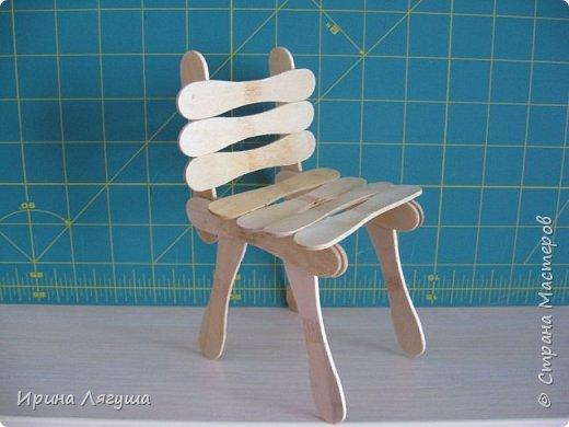 Понадобился стульчик, чтобы посадить текстильную куклу - феечку. фото 7