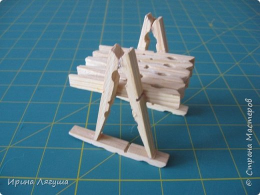 Продолжаю искать модель стульчика для феечки. Картинку подобного нашала в Интернете. Спасибо автору за идею. Клей заменила пистолетом (горячая склейка). фото 8