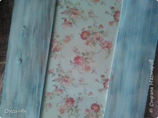 Сегодня  решила показать Вам вешалку,сделанную из дверцы  от шкафа. фото 5