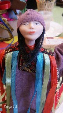 Всем доброго дня!!!!Решила показать новые работы. Это два шамана ,учитель и ученик. фото 2