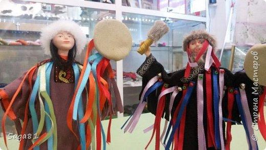 Всем доброго дня!!!!Решила показать новые работы. Это два шамана ,учитель и ученик. фото 3