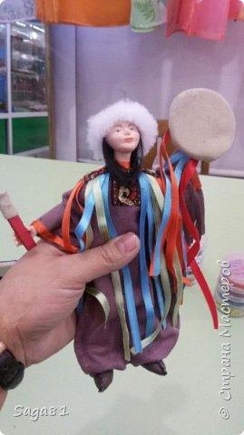 Всем доброго дня!!!!Решила показать новые работы. Это два шамана ,учитель и ученик. фото 4