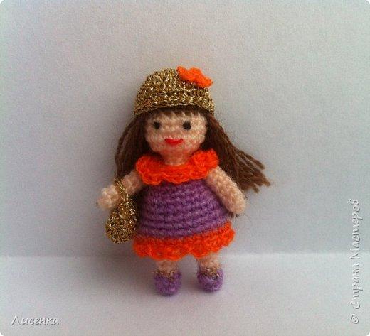 Миниатюрная куколка Лиля фото 1