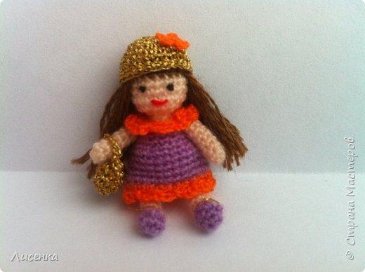 Миниатюрная куколка Лиля фото 2