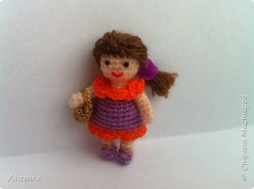Миниатюрная куколка Лиля фото 4